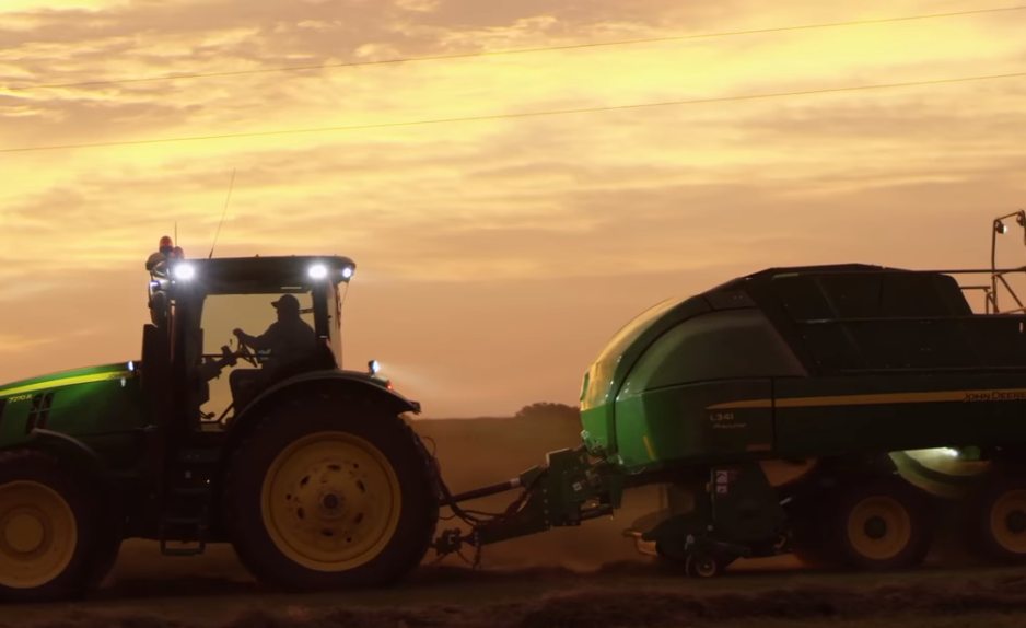 The John Deere L341 Baler