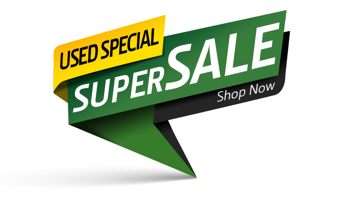 Image of stylized Super Sale Sign