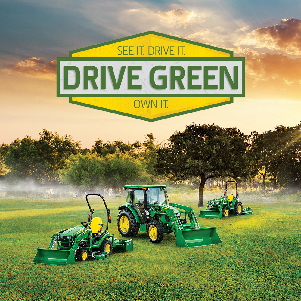 Drive Green Sales Event | 2021