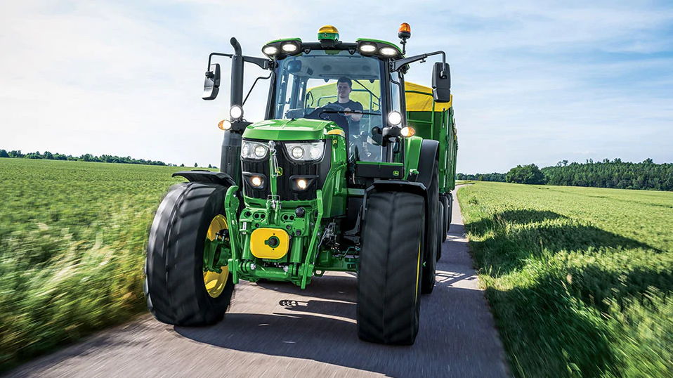 The 2021 John Deere 6M Series Tractors