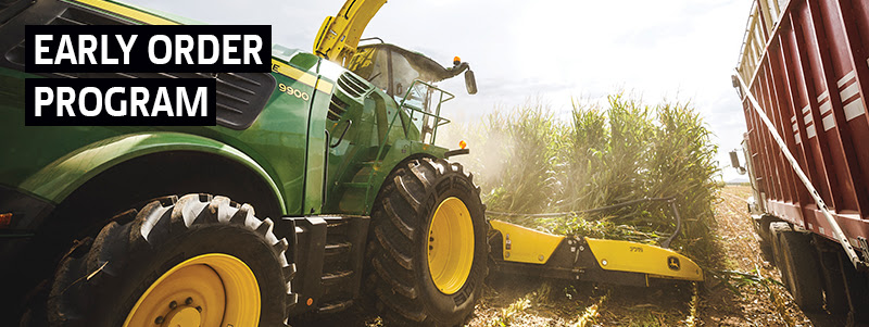 The John Deere 9900 Self-Propelled Forage Harvester