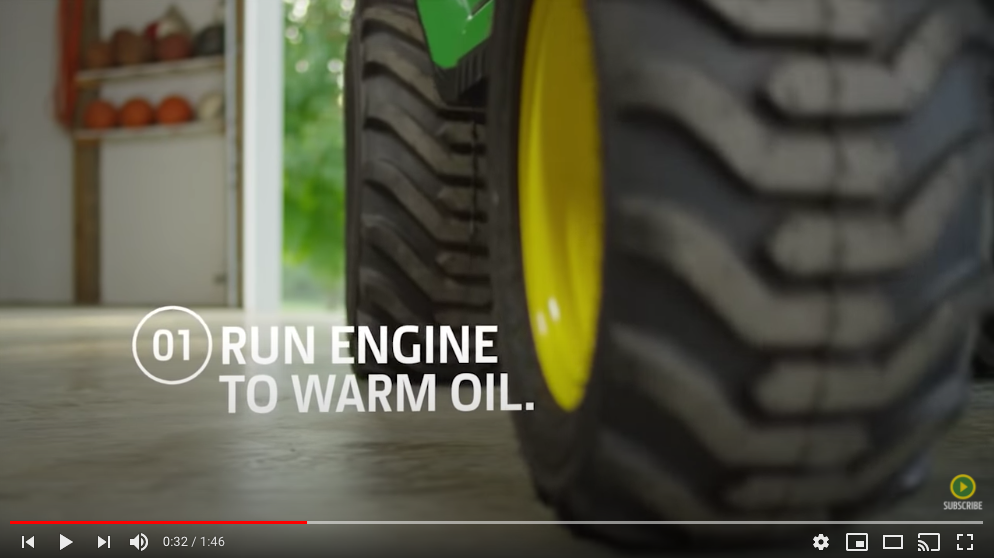 How-To | DIY Oil Change for Your John Deer Compact Utility Tractor
