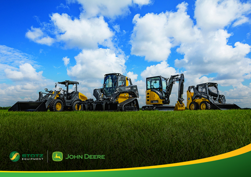John Deere Compact Construction Equipment