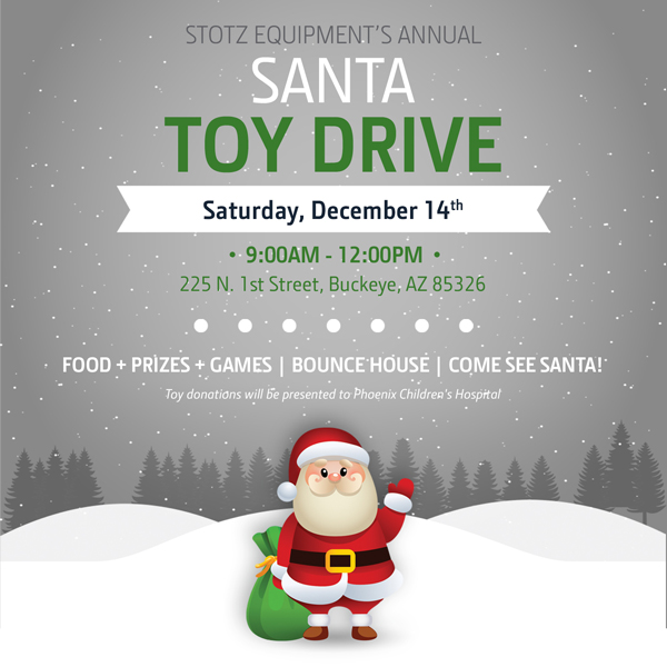 Santa's Toy Drive - Stotz Equipment, Buckeye AZ