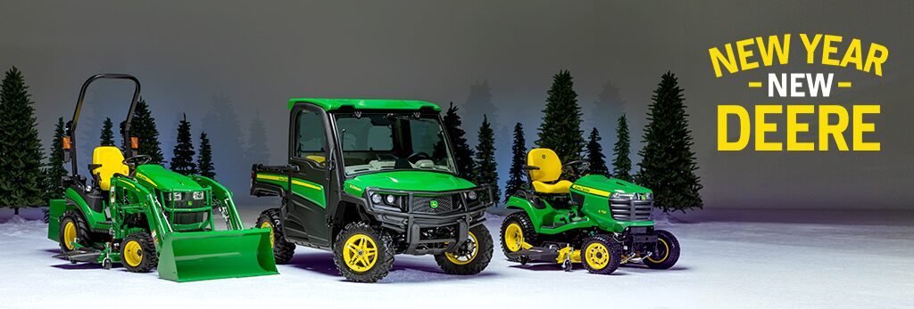 New Year, New Deere! - Sales Event 2019
