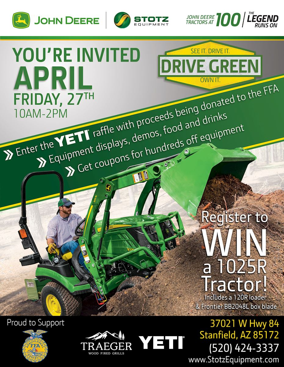 Stanfield Az Drive Green Event
