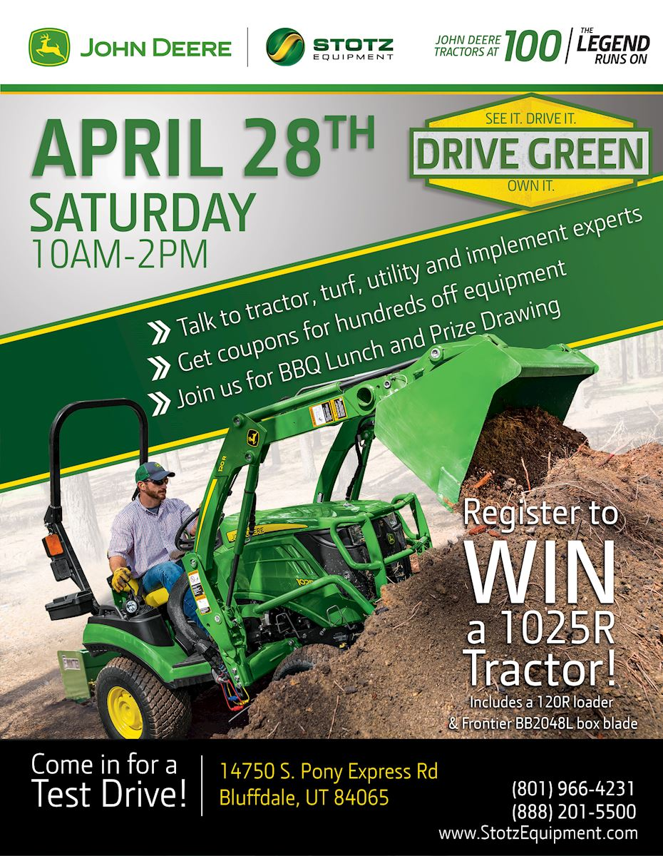 Bluffdale UT Drive Green Demo Event
