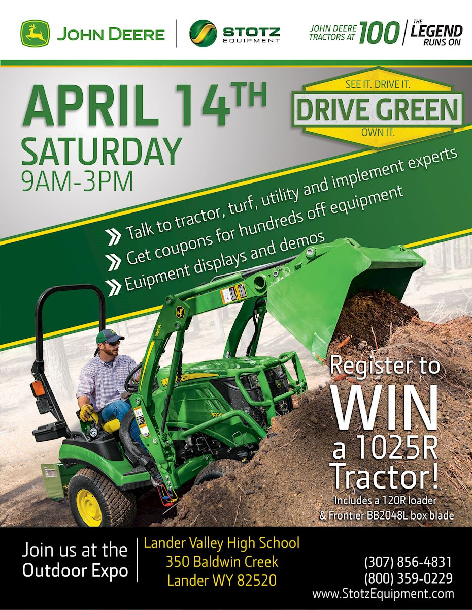 Riverton Wy Drive Green Demo Event