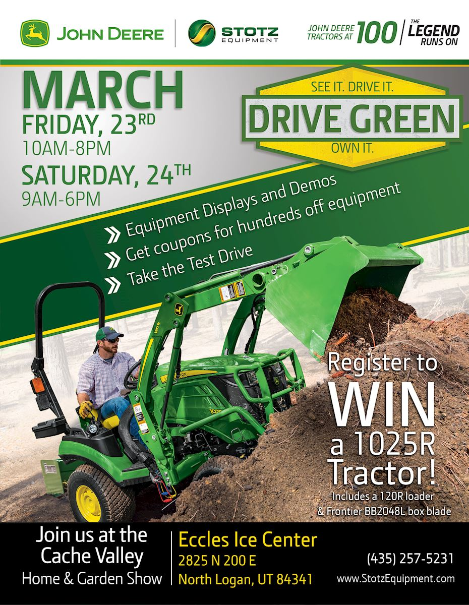 Join The Preston And Tremonton Stores At The Home And Garden Show In North  Logan