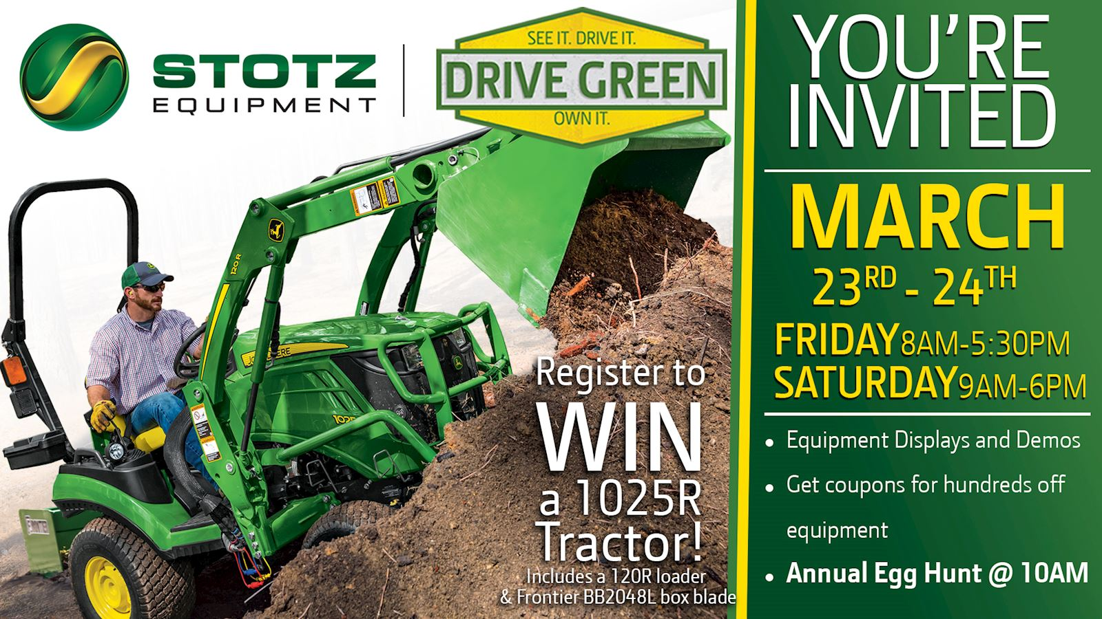 Nephi Drive Green March 23 - 24