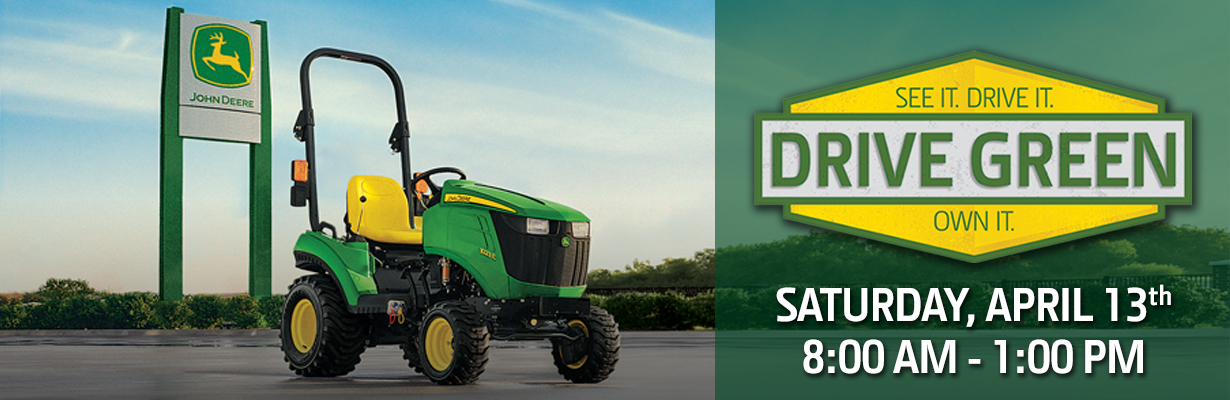 John Deere Drive Green Event Escondido California