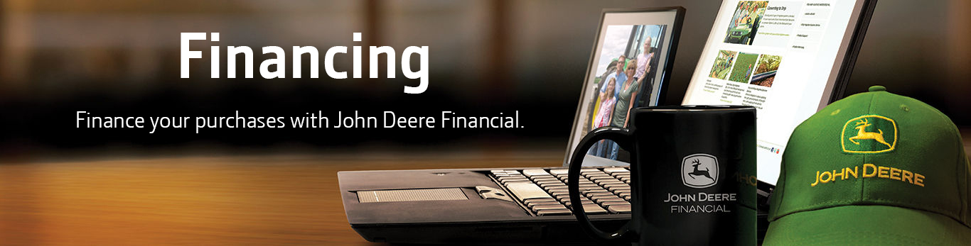 Finance your purchases with John Deere Financial