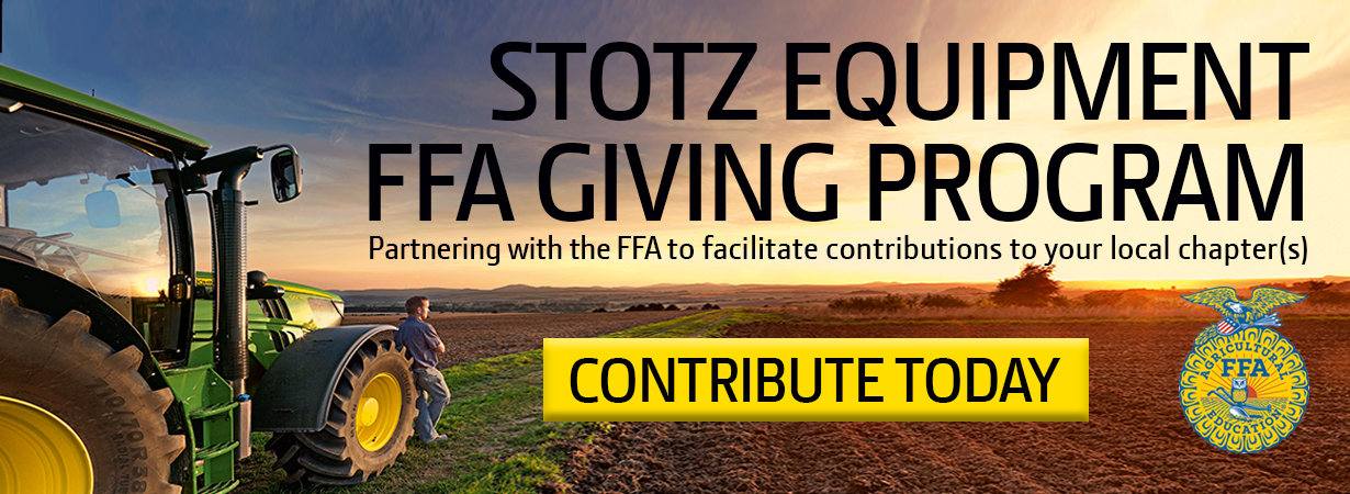 Stotz Equipment FFA Giving Program