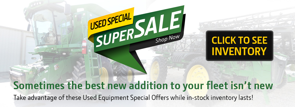 Super Sale on Used Tractor Equipment