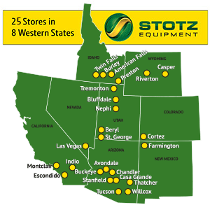 Stotz Equipment Store Locations Map